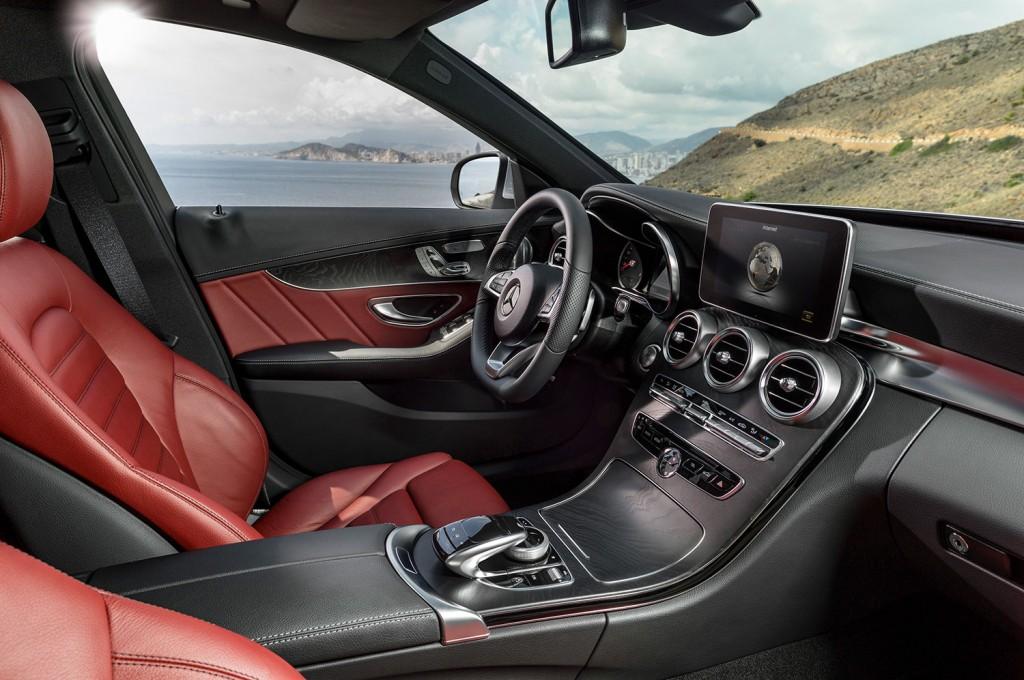 Interieur Design der neuen Mercedes-Benz C-Klasse 2014 (W205)