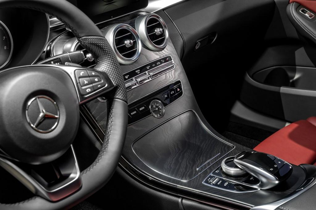 Interior der Mercedes-Benz C-Klasse (W205)
